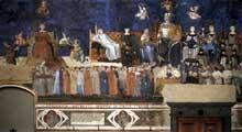 Ambrogio Lorenzetti : Les effets du bon gouvernement. 1338-1340. Fresque