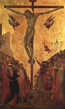 Ugolino Lorenzetti: Crucifixion