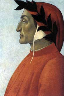 Sandro Botticelli: portrait de Dante, vers 1495. Collection privée