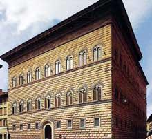 Benedetto et Giuliano da Maiano: le palais Strozzi de Florence. 1489ss. (Histoire de l'art - Quattrocento
