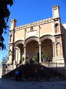 Matteo Carnelivari (1449-1506): l'église Santa Maria della Catena de Palerme. (Histoire de l'art - Quattrocento