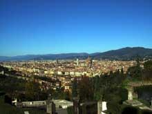 Florence: vue générale. (Histoire de l'art - Quattrocento