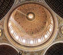 Le dôme de Saint Pierre de Rome. 1564