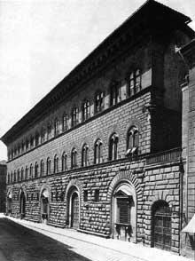 Michelozzi Di Bartolomeo (1396-1472): palazzo Médicis Riccardi, Florence. 1444. (Histoire de l'art - Quattrocento