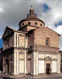 Giuliano Giamberti Sangallo (1445-1516): église Santa Madona dei Carceri, Prato (20km au nord de Florence). 1485ss. (Histoire de l'art - Quattrocento