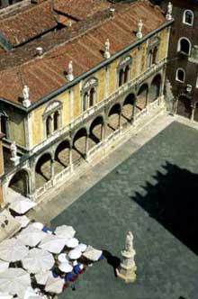 Fra Giovanni Giocondo (1445-1525): la loggia du conseil (loggia del Consiglio), Vérone (1475-1488). (Histoire de l'art - Quattrocento