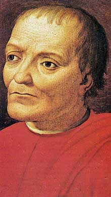 Agnolo Bronzino (1503-1572): Giovanni di Bicci. Galerie des Offices, Florence (Histoire de l'art - Quattrocento