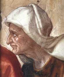 Le sacrifice de Noé. 1509; 170 x 260 cm. Fresque. Chapelle Sixtine, Vatican