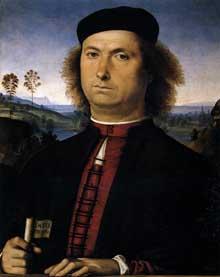 Portrait de Francesco delle Opere. 1494. Tempera sur bois, 52 x 44 cm. Florence, les Offices.