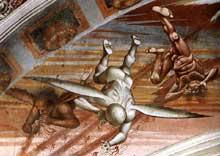 L'apocalypse (détail). 1499-1502. Fresque. Chapelle San Brizio du dôme d'Orvieto