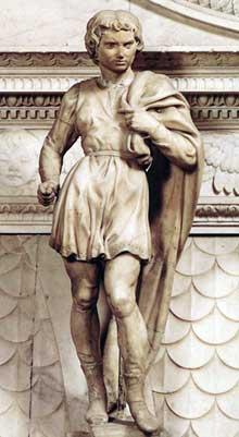 Saint Proculus. 1494. Marbre, 58,5 cm avec base. San Domenico, Bologne