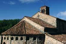 Agliate (Lombardie, Carate Brianza: l'église romano-lombarde Saints Pierre et Paul, X-XIè siècles. Le chevet