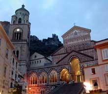Amalfi: la basilique saint André, 1266
