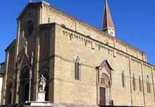 Arezzo: la cathédrale san Donato, 1278-1500