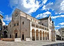 Bitonto: la cathédrale, XIIè. Vue générale