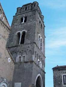 Caserte Vecchia: cathédrale saint Michel, 1153