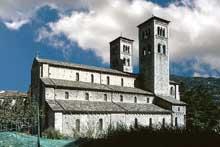 Côme: Sant'Abbondio. Vue extérieure