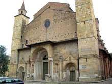 Fidenza: dôme San Donnino, XIè. La façade occidentale