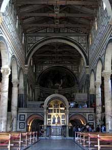 Florence: San Miniato al Monte, XI-XIIè. La nef