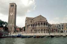 Murano: Santa Maria e San Donato, VII-XIè. Vue générale du chevet