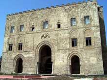 Palerme: le palais de la Ziza, 1164ss