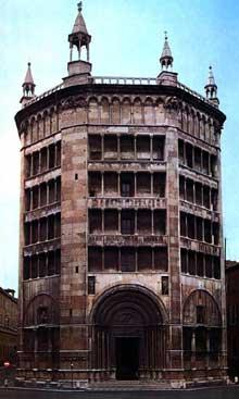 Parme: le baptistère (1196-1260) par Benedetto Antelami