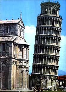 Pise: le Campanile. 1173-1350