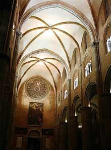 Plaisance: le dôme, 1122-1133. La nef