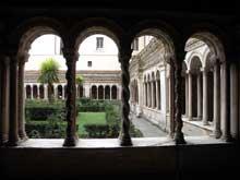 Rome: Cloître de Saint Paul Hors les Murs. XIIIè