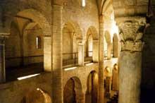 Spolète: église Sant'Eufemia, XIIè. La nef