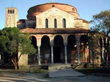 Torcello: basilique le baptistère Santa Fosca, fin XIè