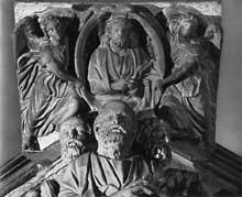 Fra Guglielmo (1235 - vers 1310: Chaire. Saint Jean Hors les Murs, Pistoia 1270