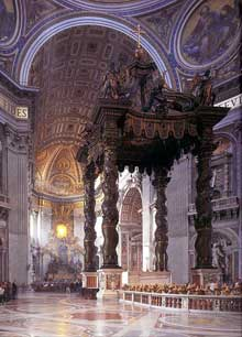 Gian Lorenzo Bernini: le Baldaquin de Saint Pierre de Rome