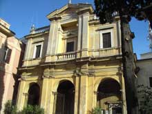 Gian Lorenzo Bernini: façade de l'église Santa Bibiana de Rome (1624-1626)