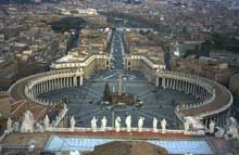 Gian Lorenzo Bernini: la colonnade de Saint Pierre de Rome