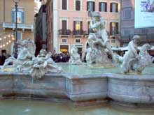 Gian Lorenzo Bernini: fontaine des quatre Fleuves de la piazza Navone