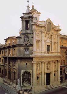 Francesco Borromini: San Carlo alle quattro Fontane (1638-1641