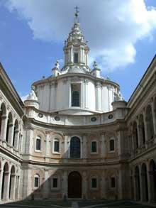 Francesco Borromini: Sant'Ivo dalla Sapienza (1642-1650)