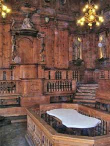 Antonio Levanti: l'amphithéâtre académique de l'université de Bologne, 1637