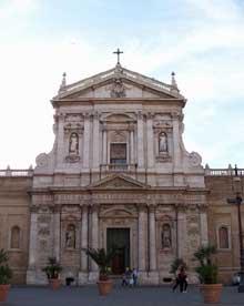 Carlo Maderno: façade de Santa Suzanna à Rome, 1596