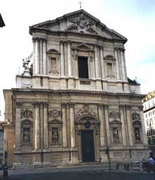 Carlo Rainaldi: façade da Sant'Andrea della Valle, Rome