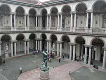 Francesco Maria Ricchini: Palazzo di Brera à Milan, 1651ss