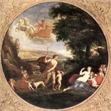 Francesco Albani dit l'Albane: l'automne; 1616-1617. Huile sur toile. Rome, Galerie Borghèse
