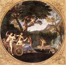 Francesco Albani dit l'Albane: le printemps; 1616-1617. Huile sur toile. Rome, Galerie Borghèse
