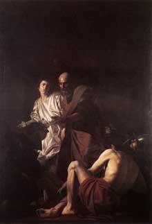 Giovanni Battista Caracciolo: Libération de Saint Pierre. 1615. Huile sur toile. Naples. Museo Nazionale di Capodimonte