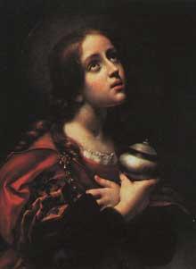 Carlo Dolci:Madeleine. 1660-1670. Huile sur toile, 73 x 56cm. Florence, palais Pitti