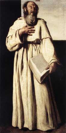 Aniello Falcone: l'anachorète. 1650. Huile sur toile, 102 x 53cm. Rome, Galleria Nazionale d'Arte Antica