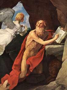 Guido Reni: Saint Jérôme. Vers 1635.Huile sur toile, 278 x 238cm. Vienne, Kunsthistorisches Museum