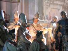 Dionigi Bussola (1612-1687): le Mont sacré de Domodossola (1660-1684): un groupe de cardinaux