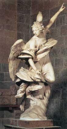 Francesco Mochi: l'ange de l'annonciation. 1603-1605. Marbre. Orvieto, Museo dell'Opera del Duomo, Orviet